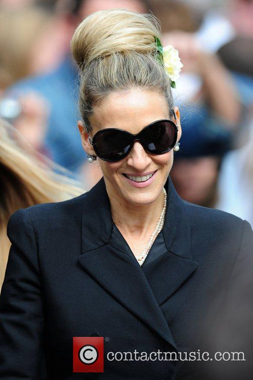 Sarah Jessica Parker, Alexander Mcqueen and Cathedral 8