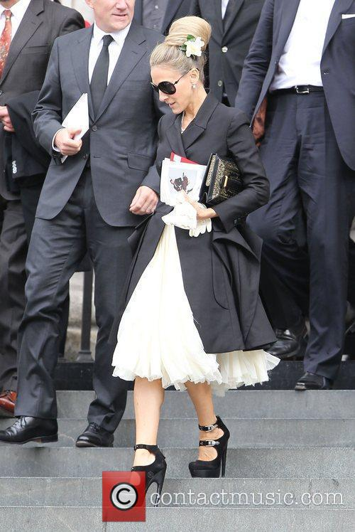 Sarah Jessica Parker, Alexander McQueen, Cathedral, London Fashion Week