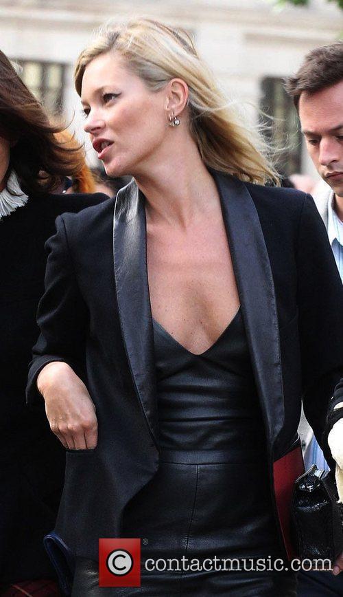 Kate Moss  Alexander McQueen memorial service held...