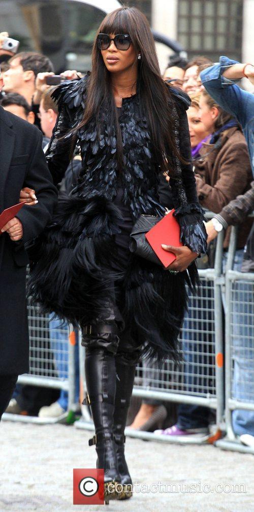 Naomi Campbell  Alexander McQueen memorial service held...
