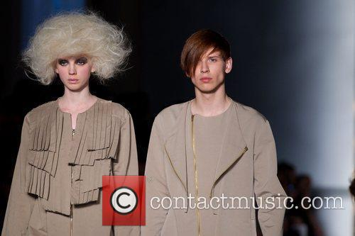 Models Lisbon Fashion Week CheckPoint Winter 2011 -...
