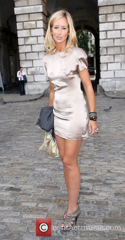 Lady Victoria Hervey London Fashion Week Spring/Summer 2011...