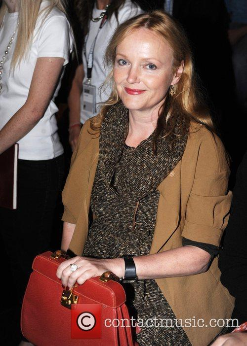 Miranda Richardson London Fashion Week Spring/Summer 2011 -...
