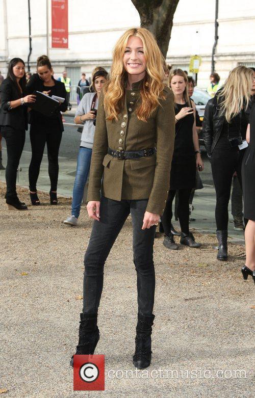 Cat Deeley London Fashion Week Spring/Summer 2011 -...