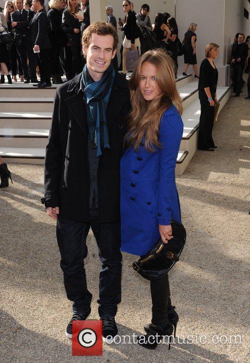 Andy Murray and Kim Sears  London Fashion...