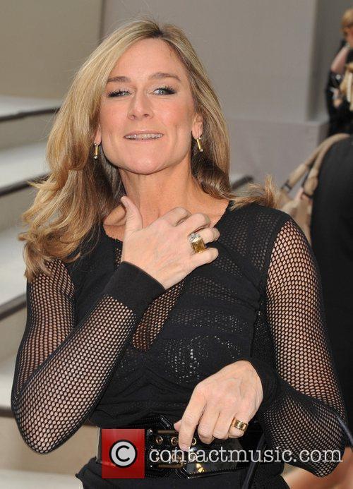 Angela Ahrendts, CEO of Burberry London Fashion Week...