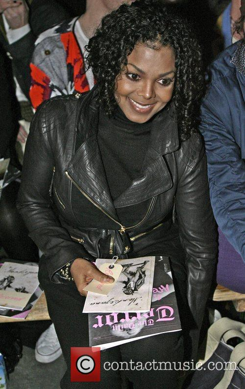 Janet Jackson London Fashion Week Autumn/Winter 2010 -...