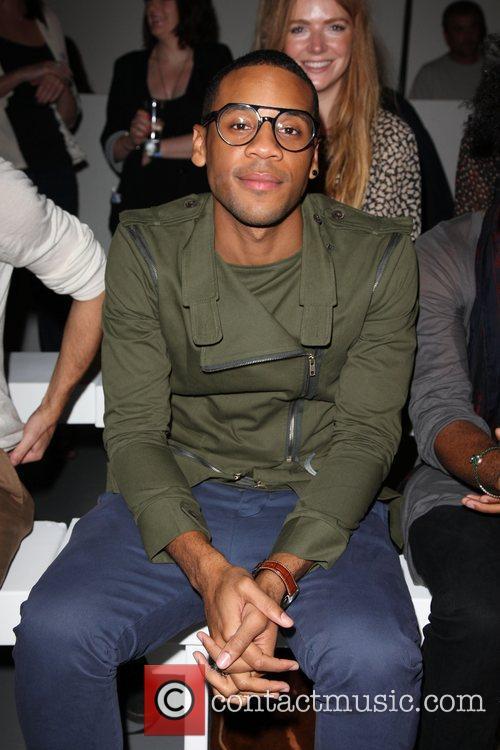 Reggie Yates London Fashion Week Spring/Summer 2011 -...