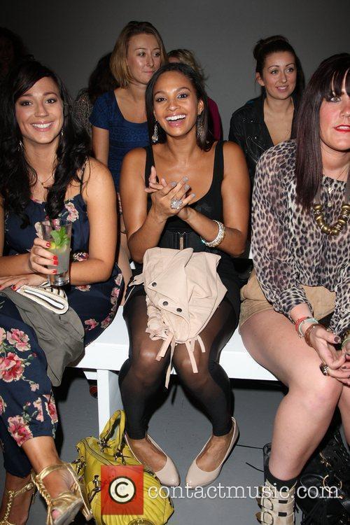 Alesha Dixon London Fashion Week Spring/Summer 2011 -...