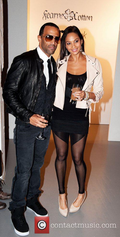 Alesha Dixon, Craig David London Fashion Week Spring/Summer...