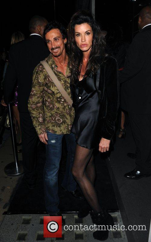 Janice Dickinson Dolce & Gabbana party held on...