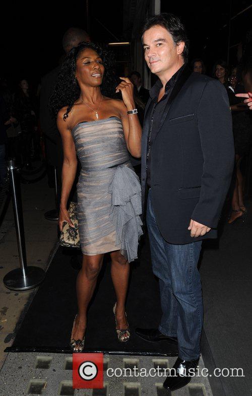 Sinitta Dolce & Gabbana party held on Bond...