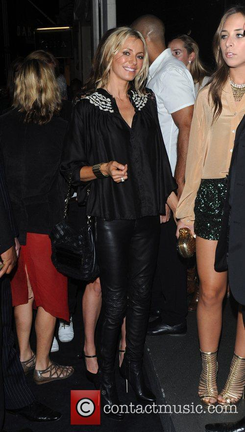Tess Daly Dolce & Gabbana party held on...