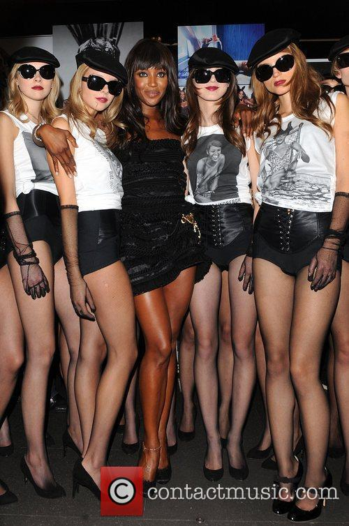 Naomi Campbell Dolce & Gabbana party held on...