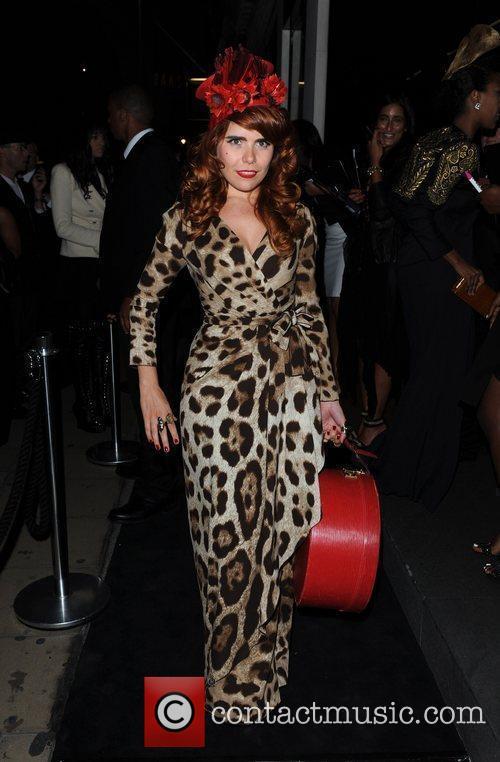 Paloma Faith Dolce & Gabbana party held on...