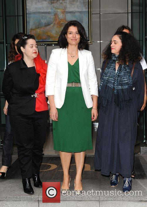 Miriam Gonzalez Durantez LFW: EcoLuxe - launch held...