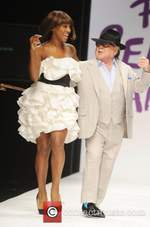Alexandra Burke and Ronnie Corbett 2