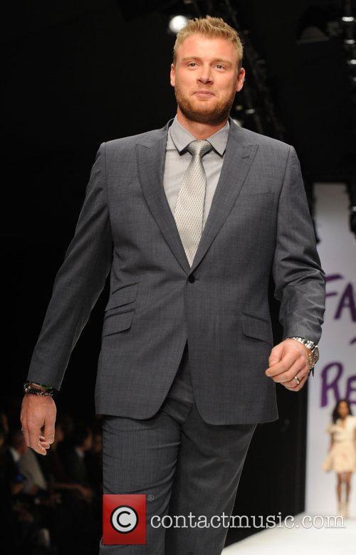 Andrew 'Freddie' Flintoff London Fashion Week 2010 -...