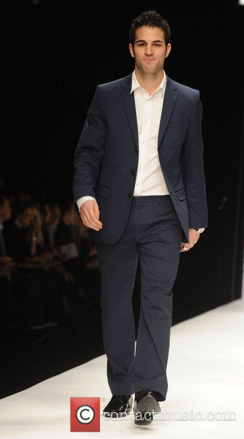 Cesc Fabregas London Fashion Week 2010 - Fashion...