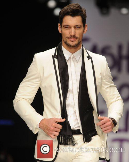 David Gandy London Fashion Week 2010 - Fashion...