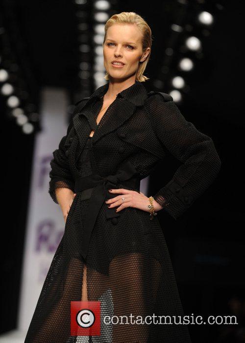 Eva Herzigova London Fashion Week 2010 - Fashion...