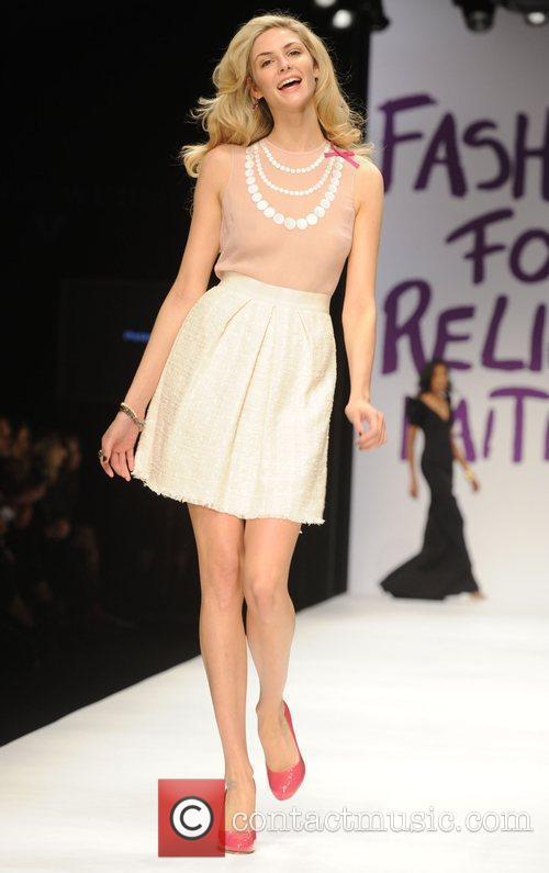 Tamsin Egerton London Fashion Week 2010 - Fashion...