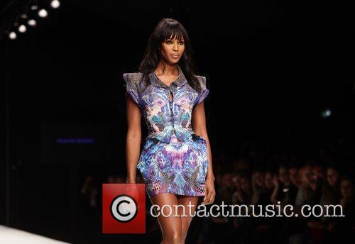 Naomi Campbell  London Fashion Week 2010 -...