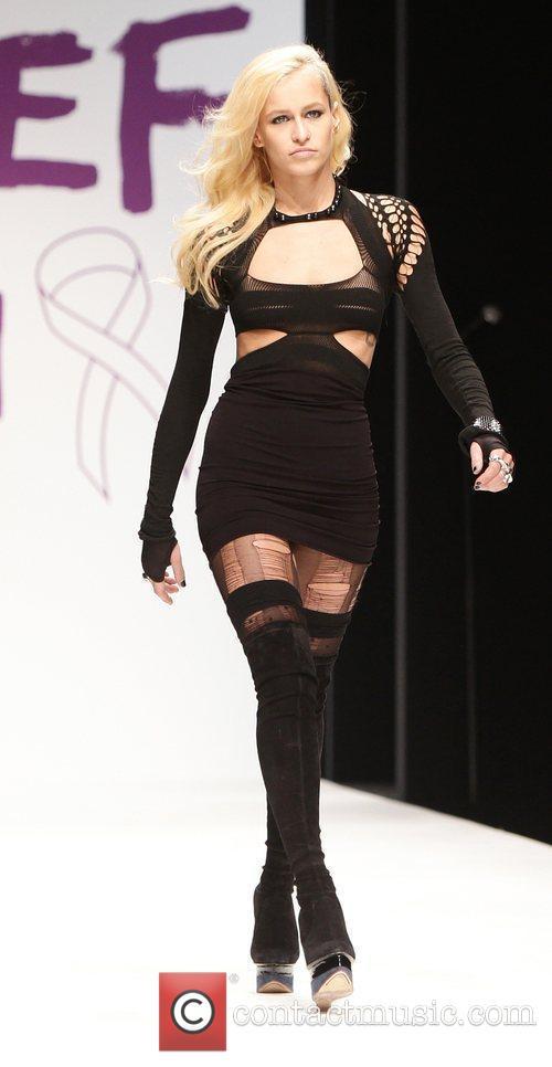 Alice Dellal  London Fashion Week 2010 -...