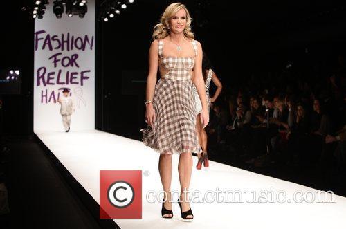 Amanda Holden London Fashion Week 2010 - Fashion...
