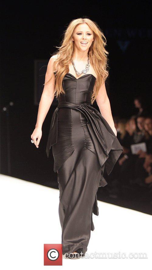 Kimberley Walsh London Fashion Week 2010 - Fashion...