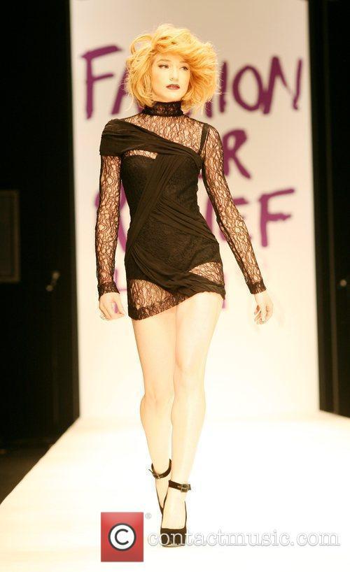 Nicola Roberts London Fashion Week 2010 - Fashion...