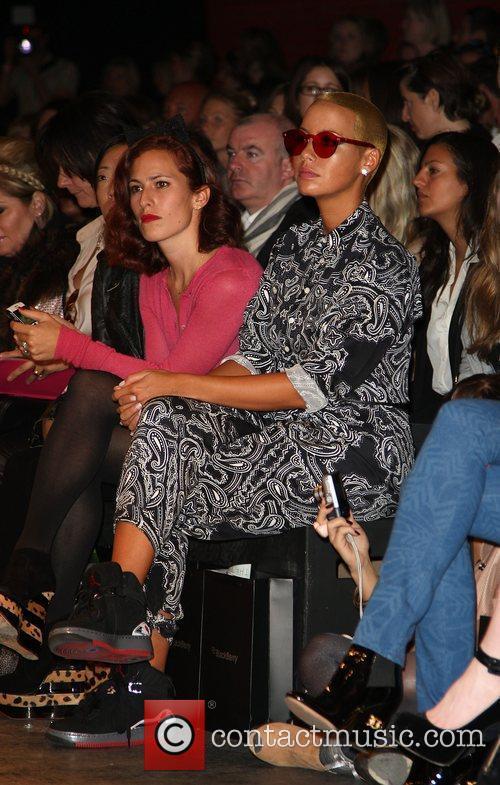 Amber Rose London Fashion Week Spring/Summer 2011 -...