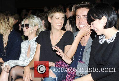 Pixie Geldof, Jaime Winstone, Lily Allen and Nick Grimshaw 9