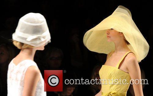 Models London Fashion Week Spring/Summer 2011 - Jasper...