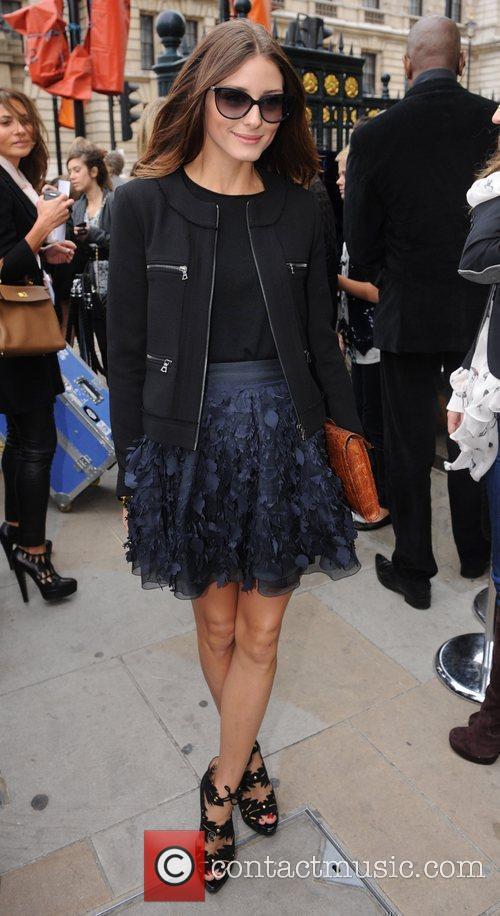 Olivia Palermo  London Fashion Week Spring/Summer 2011...