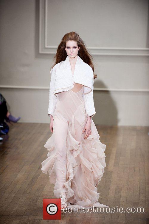 Model London Fashion Week Spring/Summer 2011 - Julien...