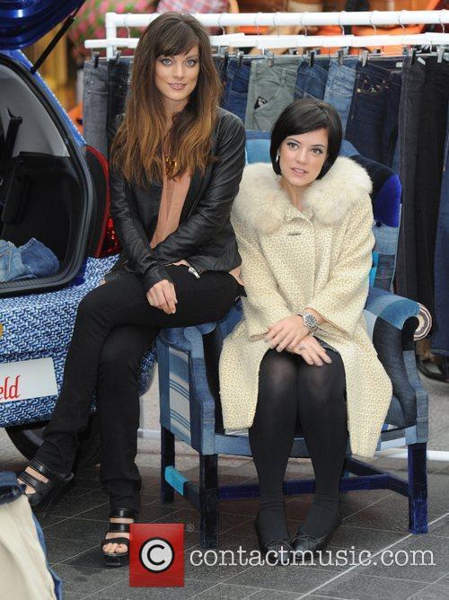 Sarah Owen and Lily Allen  London Fashion...