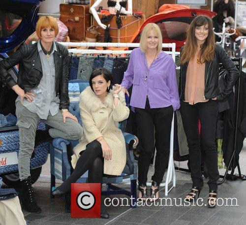 Lily Allen and Mary Portas 10