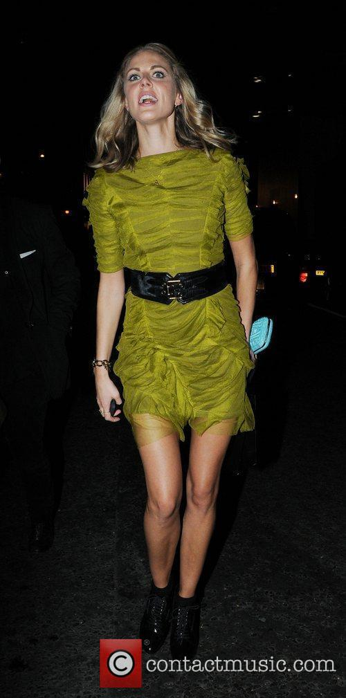 Arriving at Kate Moss & Longchamp party in...