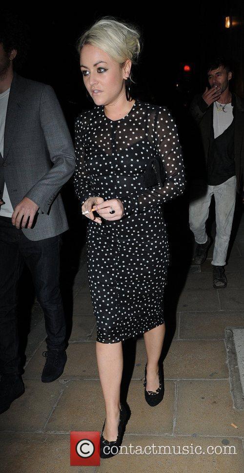Jaime Winstone, Bond and Kate Moss 1