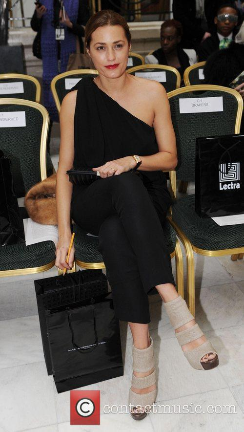 Yasmin LeBon, London Fashion Week