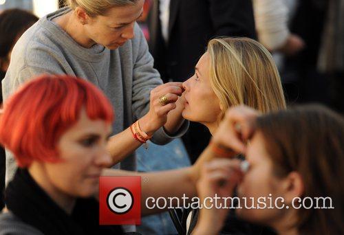 Models London Fashion Week Spring/Summer 2011 - Matthew...