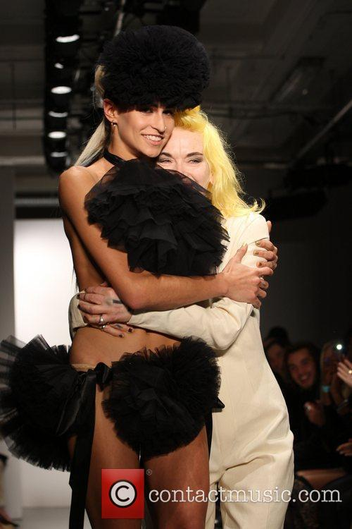 Alice Dellal and Pam Hogg 6
