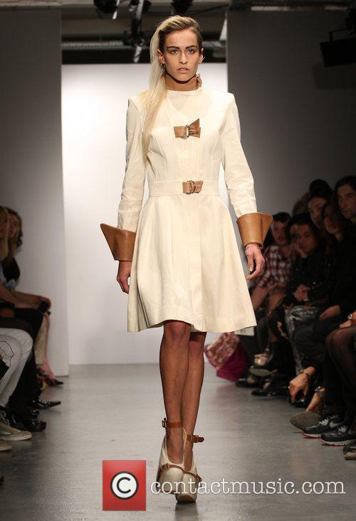 Model Alice Dellal London Fashion Week Spring/Summer 2011...