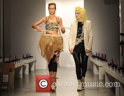 Alice Dellal and Pam Hogg 8