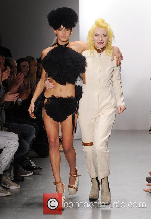 Alice Dellal and Pam Hogg 11
