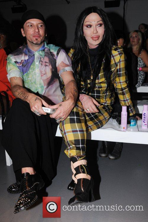 Pete Burns and Pam Hogg 2