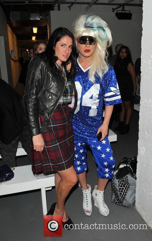 Guests London Fashion Week Spring/Summer 2011 - Pam...
