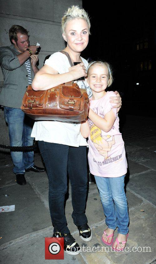 Gail Porter and her daughter Honey London Fashion...
