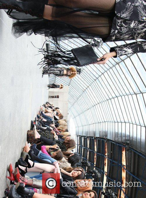 Models London Fashion Week Spring/Summer 2011 - Unique...